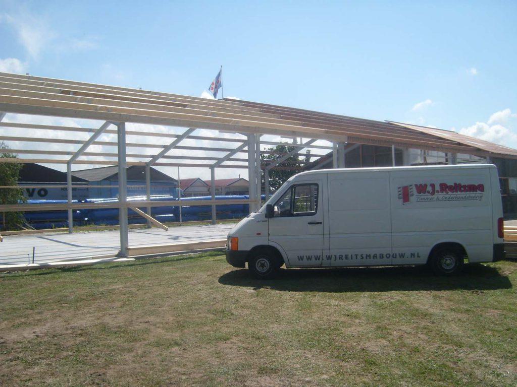 staalconstructie caravans en aanhangwagens tzummarum
